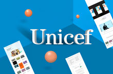 unicef web design